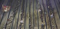 Escaleras creadas por Kanjuro