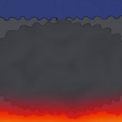 4. L'acqua viene scaldata dal calore geotermico fino ad evaporare