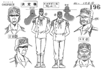 G-8 Officers Concept Art