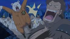 Piratas Heart durante la invasión de Jack