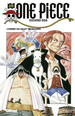 Tome 25 Couverture VF Infobox
