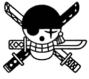 Zoro's Post Timeskip Jolly Roger