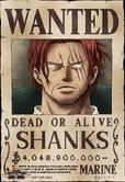 Cartel de recompensa de Shanks