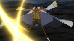Kizaru Fighting Zephyr