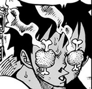 Luffy meat eyes