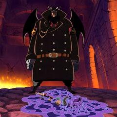 Magellan hat über Luffy triumphiert.