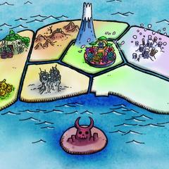 Le regioni dell'isola