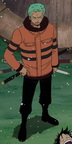 Zoro Ice Hunter Arc Outfit