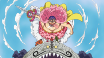 Big Mom Attaque le Groupe de Luffy
