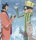 Brook and Kin'emon Height Comparison