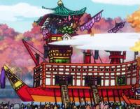 Nave di Kurozumi Orochi
