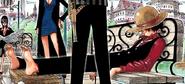 Rozdział 260 Luffy w czerwonej koszuli, spodniach i kamizelce od marynarki