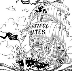 Cheval Blanc des Bois Dormants Manga Infobox