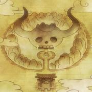 Mappa di Onigashima