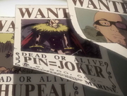 Pin Joker Bounty Poster