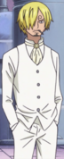 Sanji marié sans veste