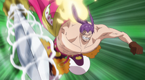 Cracker Attacks Luffy