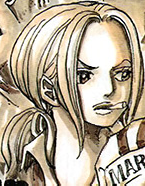 Hina as a Young Marine in the Manga