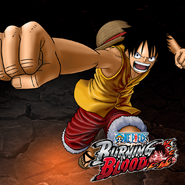 One Piece Burning Blood Pre-Timeskip Luffy (Artwork)