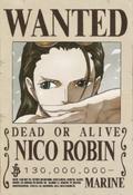 Actual recompensa de Nico Robin