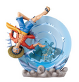 Gyojin Island Log Box set - Luffy & Jinbe