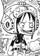 Luffy Space Time