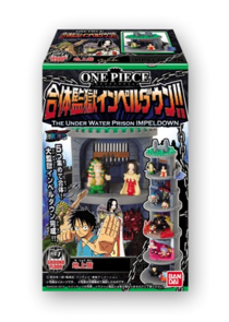 One Piece The Combining Prison Impel Down