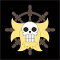 Piratas del León Dorado bandera