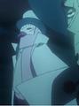 Hattori avec son masque