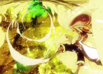 Luffy derrota a Mad Treasure