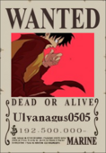 Ulyаnagus0505 Wanted Poster