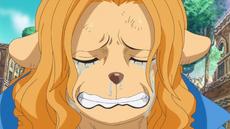 Wanda llora de alegría