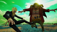 Blackbeard vs Sanji Jump Force