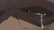 Doberman Shedding a Tear