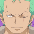 Roronoa Zoro Post Ellipse Portrait
