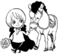 Cavendish and Farul as Children