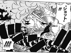 Doflamingo recibiendo un Injection Shot