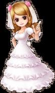 Pudding Wedding Dress Thousand Storm