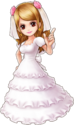 Pudding Wedding Dress Thousand Storm