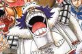 Wapol a colores en el manga