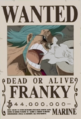 Franky's Wanted Poster