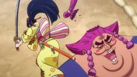 Kiku corta la coleta de Urashima
