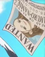 Namie Amuro Bounty Poster