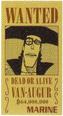 Van Augur Avis de Recherche Vivre Card