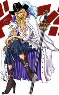 Cavendish in the Digitally Colored Manga.png