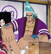 Franky Boss Luffy Historical Arc Outfit