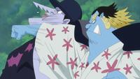 Jinbe Punches Arlong