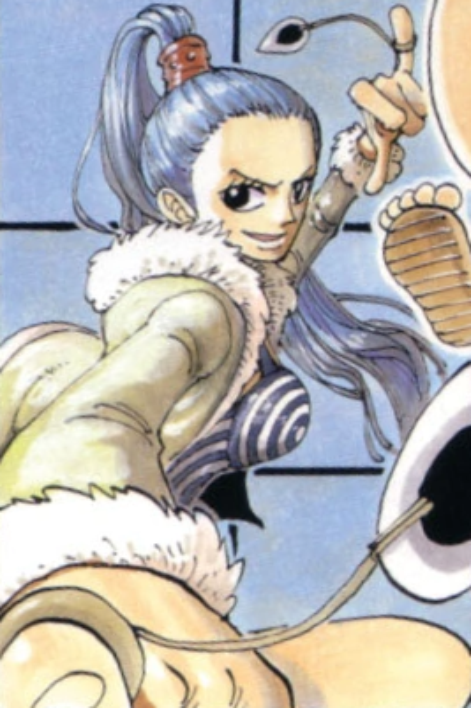 Miss Wednesday Manga Color Scheme