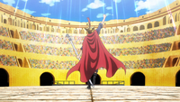 Sabo Enters the Colosseum