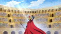 Sabo Enters the Colosseum